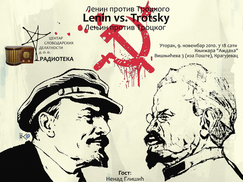 lenin vs trotsky essay Stalin vs hitler essay during his argument with trotsky, stalin joined forces with the rightists: bukharin, rykov and tomsky who wanted to continue lenin's new.
